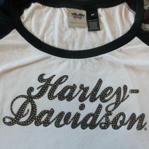Harley Davidson Flag Shirt
